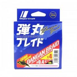 MajorCraft Dagan Braid x4 0.4 (0.07mm) 3.2kg 150m Pink