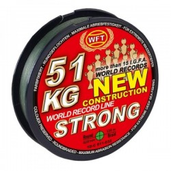 WFT New Strong Green 150m 15kg 0.12mm