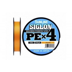 Sunline Siglon PE X4 150m(OR) _0,3(0.094mm)/5LB(2.1kg)