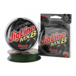 JIGLINE MX8 MOSS GREEN 0,18 mt. 130