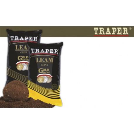Groundbait additive TRAPER «LEAM» Black molehill soil (2000 g)