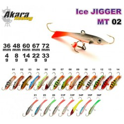 «Ice Jigger MT» 02 (horiz., 60 mm, 14 g, colour: 07)