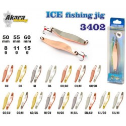 «Ice Jig» 3402 (vert., 50 mm, 8 g, colour: Cu/Ni)
