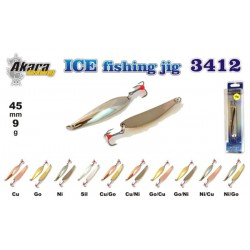 «Ice Jig» 3412 (vert., 50 mm, 9 g, colour: GO)