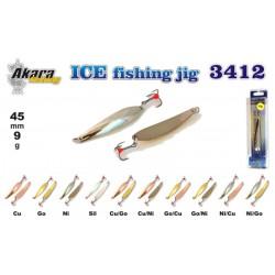 «Ice Jig» 3412 (vert., 50 mm, 9 g, colour: GO/CU)