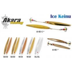 Winter lure «Keinu» 60 (vert., 60 mm,  6,0 g, colour: GO/GO)