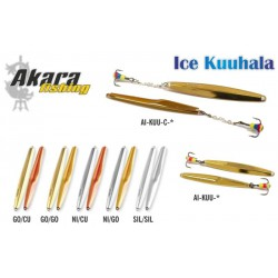 Winter lure «Kuuhala» 55 (vert., 55 mm,  6,0 g, colour: GO/GO)