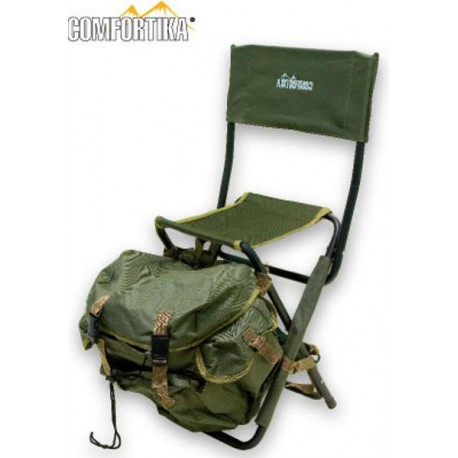 Folding chair COMFORTIKA (45х55х30 cm, steel/polyester)
