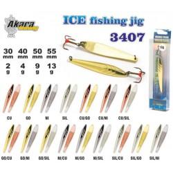 «Ice Jig» 3407 (40 mm, 4 g, colour: Go/Cu,  1 item)