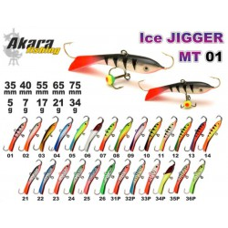 «Ice Jigger MT» 01 (horiz., 40 mm, 7 g, colour: 07)