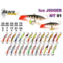 «Ice Jigger MT» 01 (horiz., 40 mm, 7 g, colour: 08)