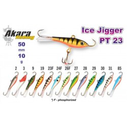 «Ice Jigger PRO» 23 (horiz., 50 mm, 10 g, colour: 2)