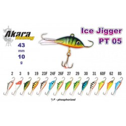 «Ice Jigger PRO» 05 (horiz., 43 mm, 10 g, colour: 26F)