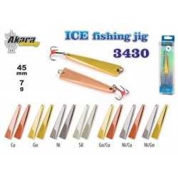 «Ice Jig» 3430 (30 mm, 4 g, colour: SIL)