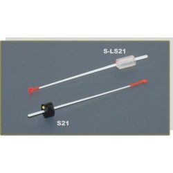 Quiver tip AKARA S-LS 21S lavsan (silicone fixation, 80 mm, rigidness: 0,25, load: 0,15 - 0,35 g)