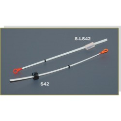 Quiver tip AKARA S-LS 42S lavsan (silicone fixation, 120 mm, rigidness: 0,50, load: 0,70 - 1,60 g)