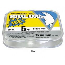 Sunline Siglon V Ice Fishing 50m Clear _0.8 0,148mm