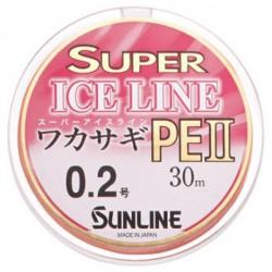 Sunline Super Ice Wakasagi PE II 30m _0,2 0.074mm