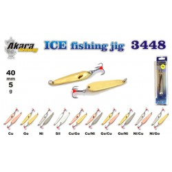 Winter lure «Ice Jig» 3448 (55 mm, 5 g, colour: CU)