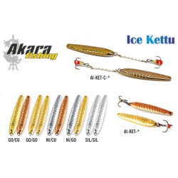 Winter lure «Kettu» 40 (40 mm, 4,0 g, colour: NI/GO)