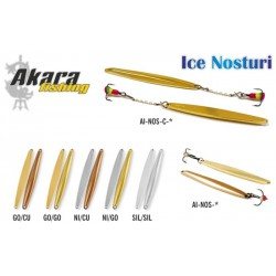 Winter lure «Nosturi» 60 ( 60 mm, 6,0 g, colour: GO/GO)