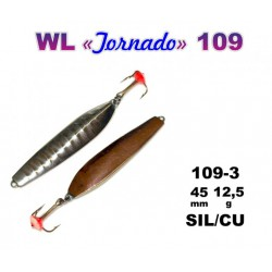 Winter lure «Tornado» 109 3 (45 mm, 12,5 g, colour: SIL/CU)