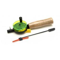 Winter rod AKARA 1808105-55 (21\11,5 cm, reel diam. 50 mm, green)