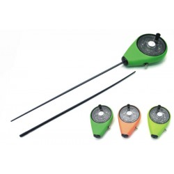 Winter rod AKARA ICE 90001 (27 cm, reel diam. 45 mm, green)