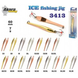 Winter lure «Ice Jig» 3413 (75 mm, 14 g, colour: Ni/Go)