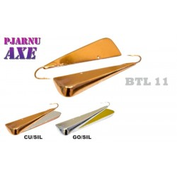 «Pjarnu AXE» 11 (70 mm, brass, 26 g, colour: GO/SIL)
