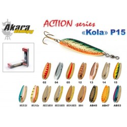«Kola» Action P15 SH (18 g, 70 mm, colour: AB33/AB34)