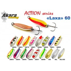 «Laxa» Action 60 SH ( 13 g, 60 mm, colour: AB61)
