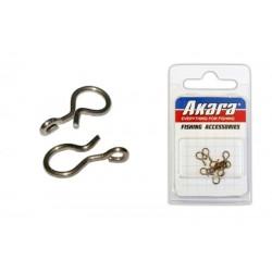 Clasp AKARA (Nr. 1, BR, pack. 10 items)
