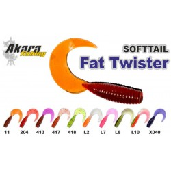 Eatable «Fat Twister» (45 mm, colour L7, pack. 8 item)