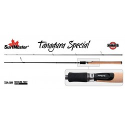 «Yamato TANAGURA Special TX-20»  ( 2,40 m, carbone, 152 g, test: 5-28 g)