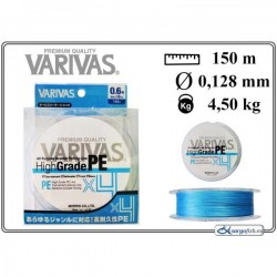 VARIVAS «High GRADE» x4  PE blue - 0.6/0.128mm