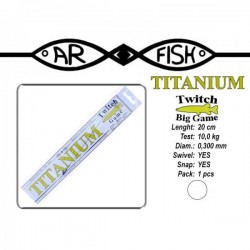 AR FISH «Titanium BIG Game» 0.300 - 20cm
