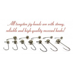 Tungsten jig-heads 10 g