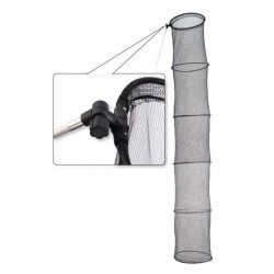 Fish keeper KP-40 (43 / 43 / 250 cm, 5 sections, with stick)