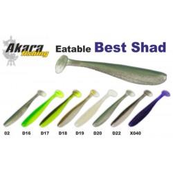AKARA SOFTTAIL Eatable «Best Shad» (90 mm, colour D20, 4 item)