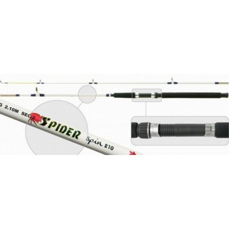 SURF MASTER «SPIN» 1213 2X (2,10 m, fiberglass, 400 g, test: 80-150 g)