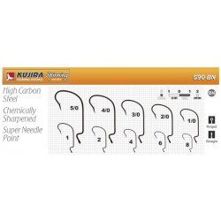KUJIRA 590 (Nr. 8, BN, offset hooks, 5 items)