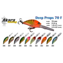 AKARA «Deep Props» 70 F (23 g, 70 mm, colour A50)
