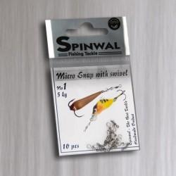 Spinwal Micro Snap 10pcs