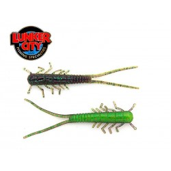 "3"" HELLGIES - JUNE BUG / LIME BELLY 15 pcs."