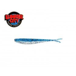 "2.5"" FIN-S FISH - BLUE ICE 20 pcs."