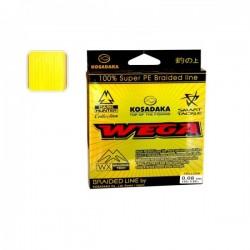KOSADAKA Wega yellow 0.08mm 150m 3.82kg