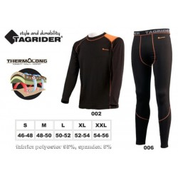 Thermo-shirt TAGRIDER ADVANCED Ultra XL (TERMOSÄRK)