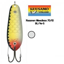 KUUSAMO RASANEN Weedless 70/10 BL/Ye-S