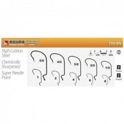 KUJIRA 590 (Nr. 6, BN, offset hooks, 5 items)